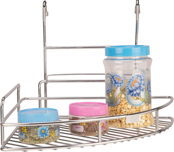 SS Corner Rack Single Tier