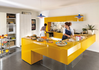 L-SHAPED KITCHEN